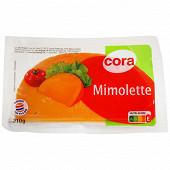 Cora mimolette au lait pasteurisé 4 semaines d'affinage 23% 310g