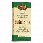Camille Bloch tablette williams 100g