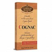 Camille Bloch chocolat lait cognac 100g
