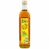 Nature bio huile de colza vierge biologique 75cl