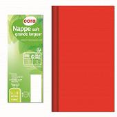 Cora nappe soft rouge 5x1.38m