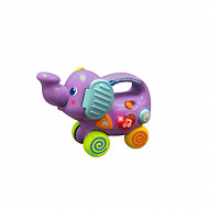 Mon éléphant pousse pousse