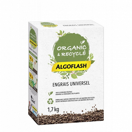 Algoflash naturasol engrais naturel nniversel 1,7 kg