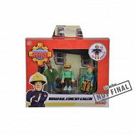 Sam le pompier figurines police 7.5cm