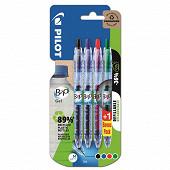 Lot de 3+1 offert stylo gel b2p begreen