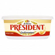 Président beurre gastronomique doux 82% mg 250g