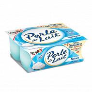 Perle de lait nature 4x125g offre découverte