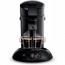 Philips machine à dosette Senseo original noir corbeau + 2 tasses HD6554/62