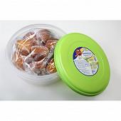 Boîte plastique madeleines 350 g