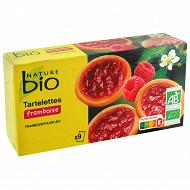 Nature bio tartelettes framboise bio 125g