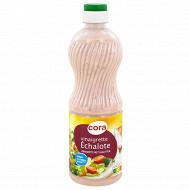 Cora vinaigrette échalotes allégée en matière grasse 50cl