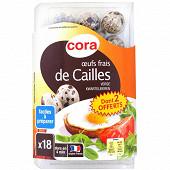Cora 18 oeufs frais de cailles dont 2 offerts N°3