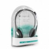 Logitech Casque stéréo avec micro H111