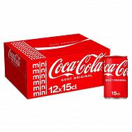 Coca-cola boite frigo pack 12x15cl