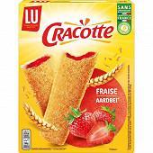 Lu cracotte fraise x12 200g