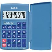 Calculatrice dédiée primaire casio petite fx bleue