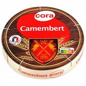 Cora camembert au lait pasteurisé 250 g