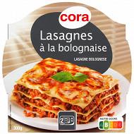 Cora lasagnes à la bolognaise 300g