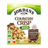 Jordans Country Crisp bio chocolat noir et fèves de cacao 400g