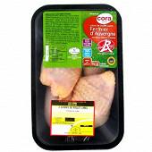 Cora cuisse de poulet jaune label rouge Auvergne x2