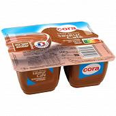 Cora crème dessert saveur café 4 x 125g