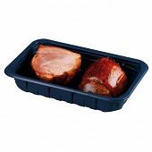 Demi jambonneau cuit superieur frais emballe par 2 soit 380g
