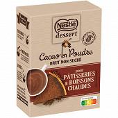 Nestlé Dessert cacao en poudre brut non sucré 250g