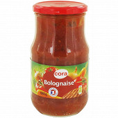 Cora sauce bolognaise 680g
