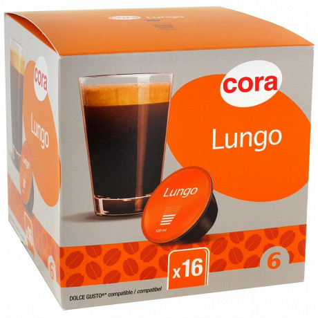 Cora capsule type dolce guto lungo x16 115.2g