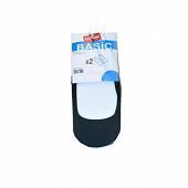 Lot de 2 paires de protège pieds femme Influx Basic NOIR T39/41