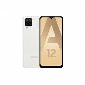 """Samsung Smartphone 6.5"""" GALAXY A12 BLANC"""