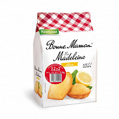 Bonne Maman madeleines citron 12+2 offertes 350g