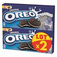 Oreo original pocket vanille lot x2 440g