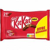 Kitkat 2 finger mini offre gourmande 350g