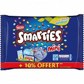 Nestlé smarties mini 341g + 10% offert - carton 24uc