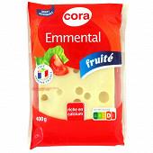 Cora emmental français portion au lait thermisé 400 g