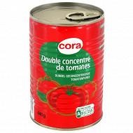 Cora double concentré de tomates 440g