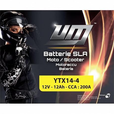 UM batterie YTX14-4