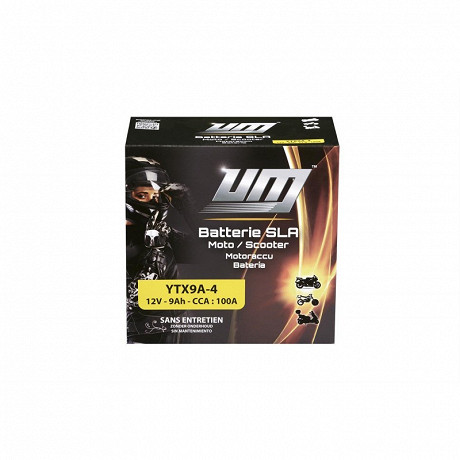 UM batterie moto YTX9A-4
