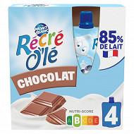 Récré o'lé chocolat 4x85g