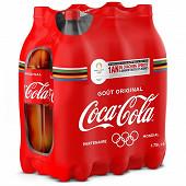 Coca-Cola contour 6x1.75l Jeux Olympiques