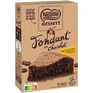 Nestlé dessert préparation pour fondant chocolat 317g