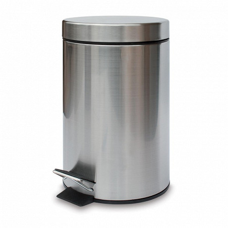 Poubelle à pédale métal finition mate 3 litres