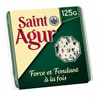 Saint agur portion 125g