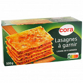 Cora lasagnes à garnir 500g