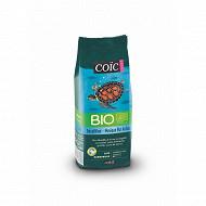 Cafés Coïc Bio Mexique Décaféiné café moulu 250g