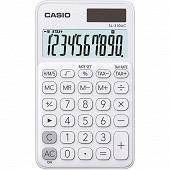 Casio calculatraice de poche 4 opérations sl310 uc blanche