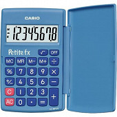 Casio calculatrice primaire petite fx bleue