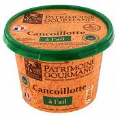Patrimoine gourmand cancoillotte à l'ail 11%mg 250g