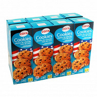 Cora cookies noix de coco lot de 8 1.6kg